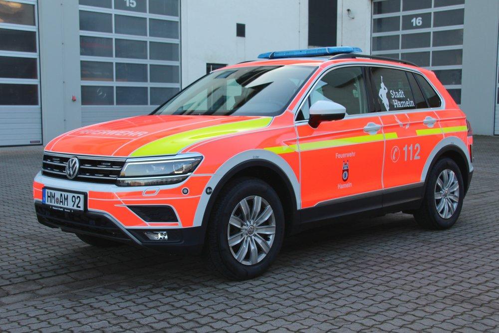 Kdow Fahrzeuge Ausstattung Freiwillige Feuerwehr Hameln